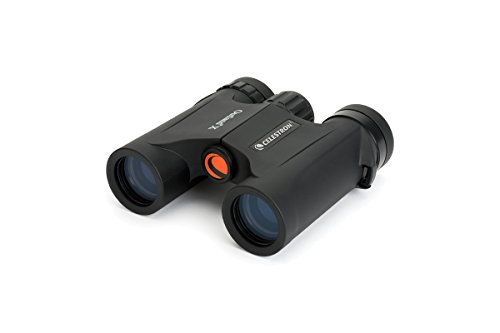 Celestron – Outland X 8x25 Binoculars – Waterproof & Fogproof – Binoculars for Adults – Multi-Coated Optics and BaK-4 Prisms – Protective Rubber Armoring
