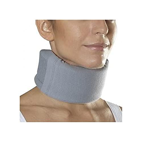 Ortho - Collare Cervicale Ortopedico Morbido Basso Misura Media Colore Azzurro Taglia 2