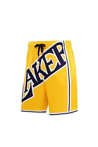 HGFD Lakers Warriors Celtics Basketball Shorts Sports Shorts Embroidery mesh Retro Shorts 3XL B