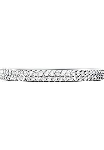 Michael Kors Damen-Damenring 925er Silber 56 Silber 32013107