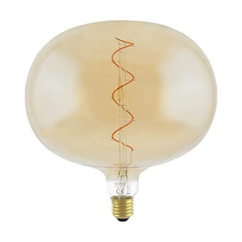NUEVA Colección 2020-21 de NOVATEK - Bombilla GIGANTE de LED - Hecho a MANO, idea para Salón, Comedor, Dormitorio,...