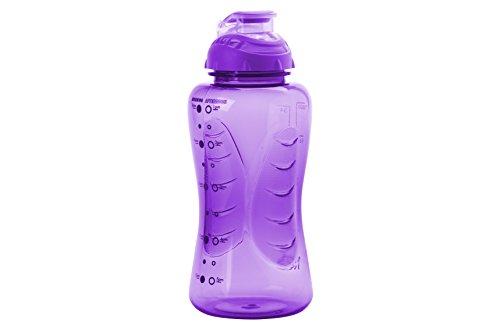 Smash PP 750 ml Shaker Boisson Bouteille Avec De l/'eau timings-Violet 9 x 9 x Violet