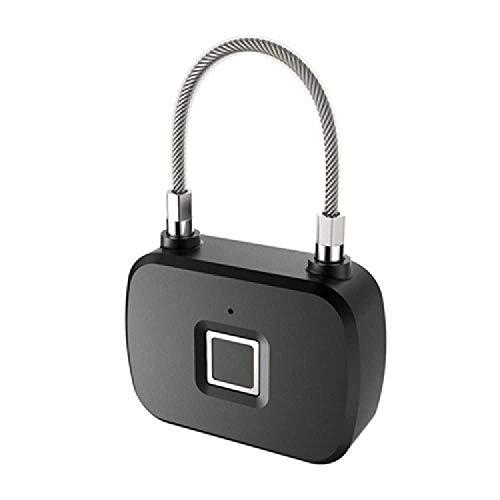 zhuao Mini Lazy Persoon Geen sleutel Vingerafdruk Lock, Elektronische Smart Rugzak Hangslot, Home Locker Anti-diefstal Lock