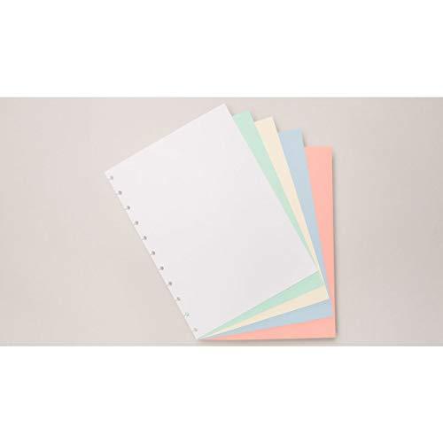 Refil de Folhas Para Caderno Inteligente, 2011191, Grande, Colorido, 215x280 mm, 90 Gramas, 50 Folhas