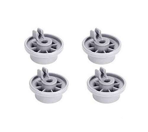 REDPOINT Kit de 4 ruedas cesta inferior lavavajillas – Adaptable Bosch/New, 165314