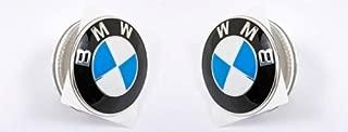 Genuine Clear Side Marker Lights White + Emblems Pair BMW Z4 E85 E86 02-08