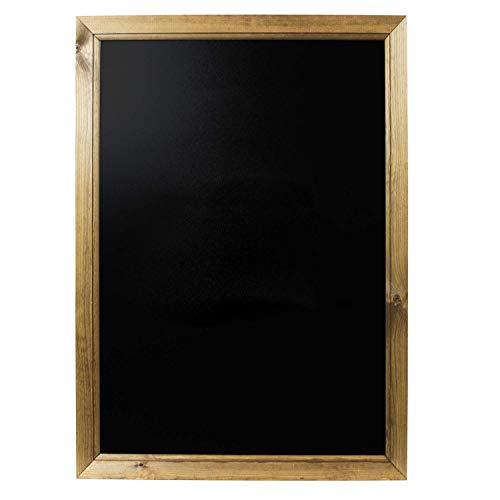 Chalkboards UK - Pizarra enmarcadas Madera Roble Oscuro