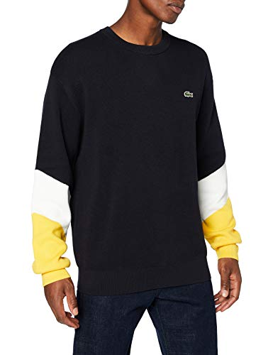 Lacoste AH2060 Sweater, ABIMES/Farine-GUEPE, M Homme