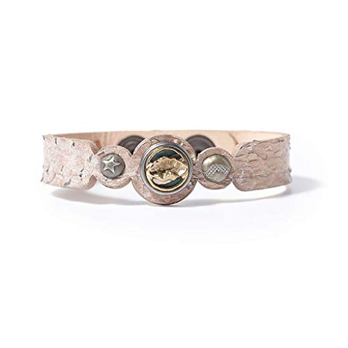 Noosa PETITE Armband VENUS SALMON creme - ohne Chunk Größe S