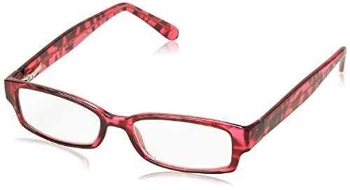 Foster Grant Aurora Rectangular Readers for Women +1.00 by Foster Grant