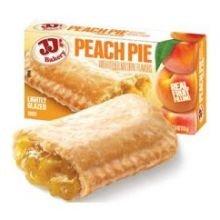 JJs Peach Pie Dessert -- 48 per case.