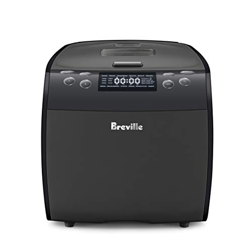 Breville Multi Chef Multicooker 9 in 1 Multi Cooker, Black, LMC600GRY2JAN1
