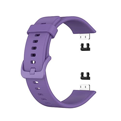 Fawyhr Cinghie di orologio in silicone RILASCIO Quick, Gomma Soft Gomma Gruppi per orologi per Smart Orologi Cinturini Sostituzione Sostituzione Straccio in silicone alla moda con fibbia a colori, dim