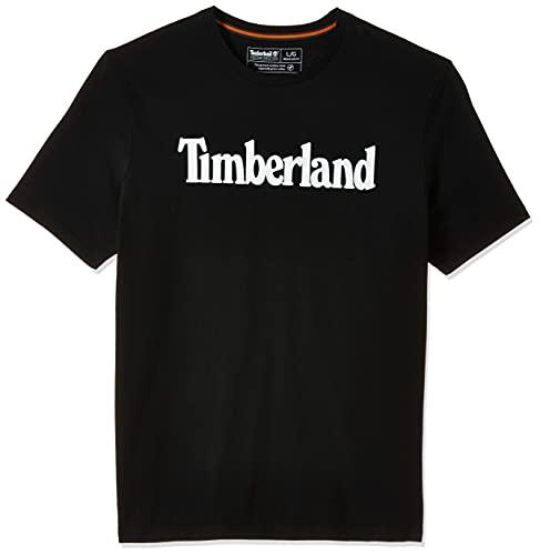 Timberland T-Shirt da Uomo Kennebec River Linear Nera Taglia XXL cod TB0A2C31001