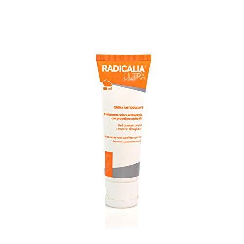 Radicalia Ultra | Protezione solare anti-radicalica SPF 50+ | A base di ROC estratto delle arance rosse di Sicilia | 50 ml