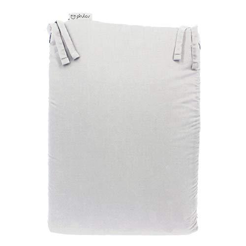 Pirulos 43300001 - Protector para cuna, algodón, color blanco,