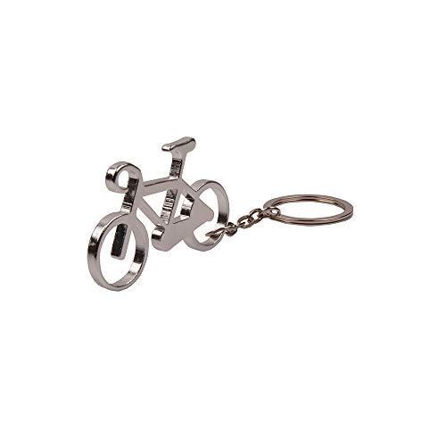 Nektar Fahrradfigur Schlüsselanhänger, Fahrrad dachte, Schlüsselhalter, Metall, Handliches Design