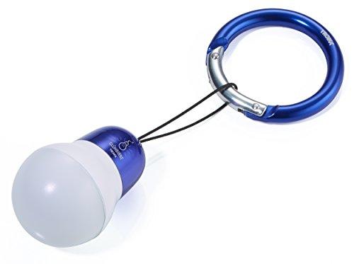 TROIKA Bag Light?Taschenlampe (Taschenlampe, Schlüsselanhänger, Blau, Weiß, Acrylnitril-Butadien-Styrol (ABS), Aluminium, 1Lampe (S), LED, weiß)