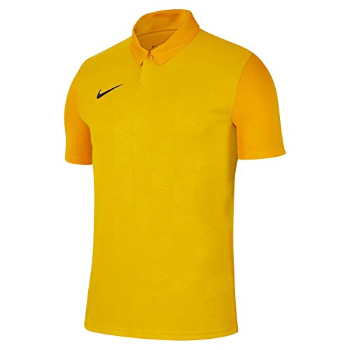 Nike Trophy IV Jersey SS Maillot Homme, Tour Yellow/University Gold/(Black), FR (Taille Fabricant : XL)
