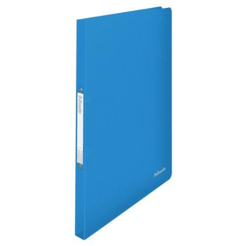 Esselte 624031 VIVIDA Ringbuch (A4, PP, 2 Ringe, 16 mm) blau