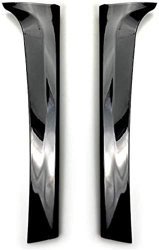 Mmhot Ventana Trasera Lateral del alerón del ala, ala Trasera de Ajuste Cubiertas Car Styling for Sidfor Volkswagen Tiguan Tiguan L MK2 2017+
