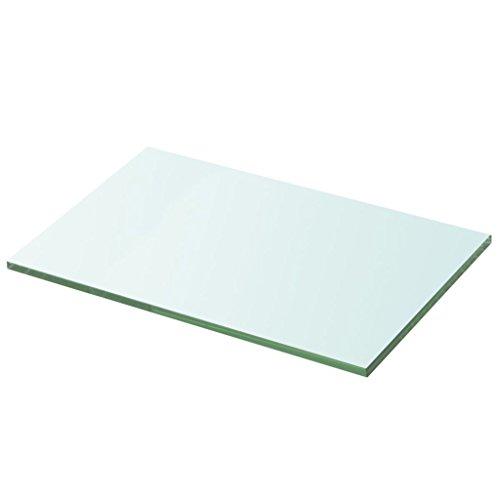 vidaXL Glasboden Glasscheibe Glasplatte für Glasregal Transparent 30 cm x 20 cm