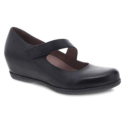 dansko Damen Lanie, Black Burnished Nubuck, 42.5/43 EU