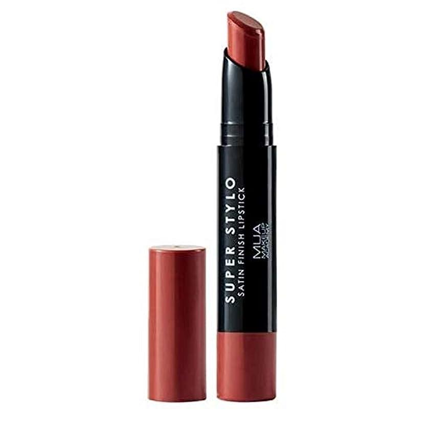 刈り取る君主投資[MUA] MuaスーパーStylo口紅の主要005 - MUA Super Stylo Lipstick Major 005 [並行輸入品]
