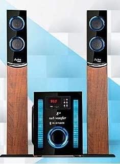 Gemco Soundbar Multimedia Speaker with Bluetooth, USB Input, SD Card Input (Blue)