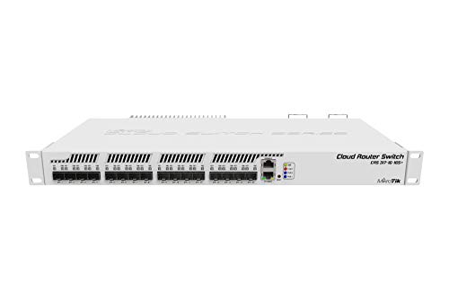 MikroTik Cloud Router Switch Rack-mountable Manageable Switch with Layer 3 Features (CRS317-1G-16S+RM)