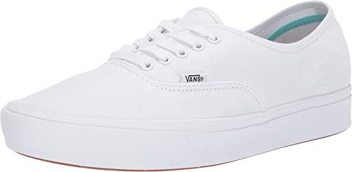 Vans ComfyCush Authentic (Classic) True White/True White Herren 4, Damen 5.5
