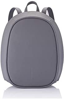 XD DESIGN fashion security special subway anti-theft travel backpack female XD eggshell bag (Grey)