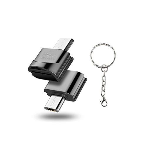 Yoging - Lector de tarjetas de memoria TF para teléfono móvil, micro USB para Sam-Sung, Xiao-Mi, Huawei, teléfonos y tabletas