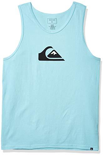 Preisvergleich Produktbild Quiksilver Herren COMP Logo Tee Hemd,  Gulf Stream,  Mittel