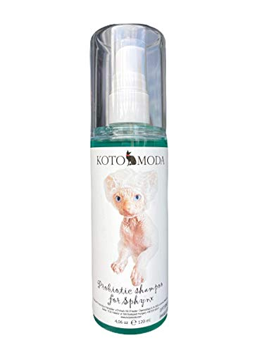 Kotomoda Probiotisches Shampoo für Sphynx Katze 120 ml