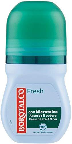6 desodorantes Borotalco Fresh con microtalco – 50 ml