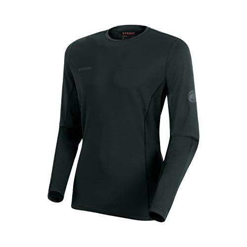 Mammut Sertig Tee-Shirt à Manches Longues Homme Black FR: 2XL (Taille Fabricant: XXL)