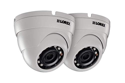 Lowest Price! Lorex E581CD Series 5MP Super HD Indoor/Outdoor Day & Night IP Security Dome Camera wi...