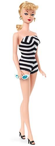Barbie Signature, Riproduzione Bambola da Collezione con Costume da Bagno, Giocattolo per Bambini 6+ Anni, GHT46