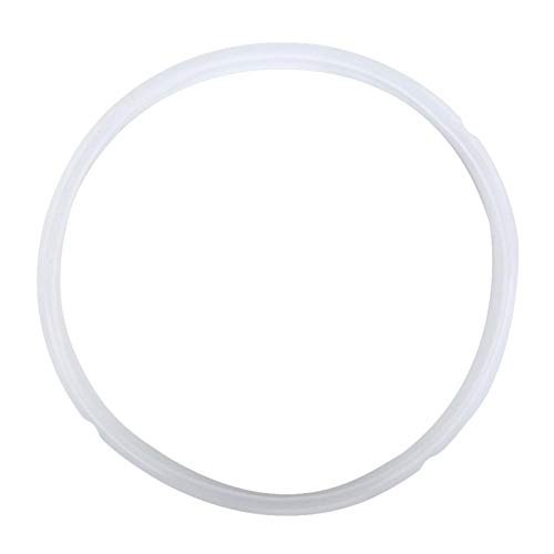 Pressure Cooker Silicone Sealing Ring Replacement Gasket Seals Electric Pressure Cooker Accessories Universal Kitchen Appliance Parts Fit for 5/6Qt 8Qt Pot(8Qt -White)