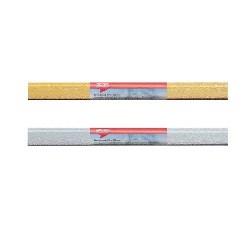 Herlitz 253161 Papier crépon, (L) 500 x (L) 1500 mm, doré
