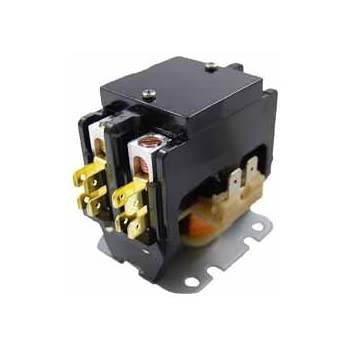 Contactor Double Two Pole 40 Amp 24 Volts Air Conditioning PC240A