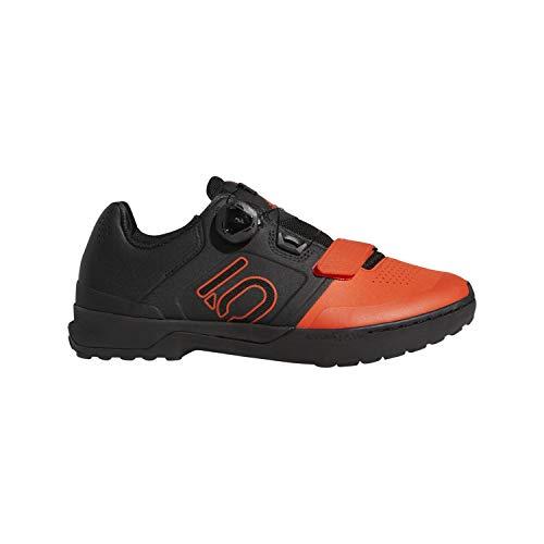 Five Ten Kestrel Pro BOA Men's Clipless Shoe: Active Orange/Black/Black 11