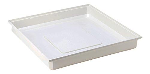 DREHFLEX - Wasserauffangwanne/Wanne/Wasserauffangschale/Schale/Waschmaschinenschale für Waschmaschine 70 x 70x 10 cm - schützt vor auslaufendem Wasser