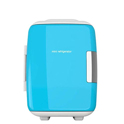 ZHENYUE Elektrische ini Frige Cooler Warer Teroelectric Quiet Energy Efficient Tragbare ini Kühlschrank Auto oder Roo Büro-blau 4L ZHENYUE (Color : Blue, Size : 4L)