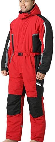 LSZ 1 Pièces Costume de Ski for Hommes, Femmes, Adultes Combi Neige Ski Costumes de Ski dhiver en Plein air Combinaisons Combinaisons Habits de Neige imperméable for Sports de Neige
