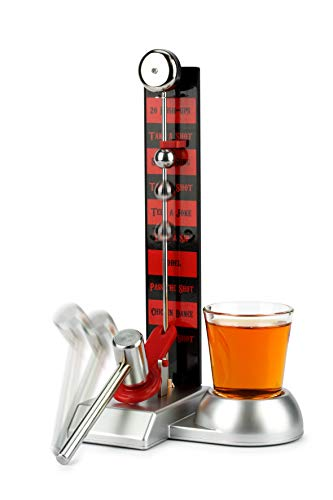 Barbuzzo Hammer Shot - Entertaining Party Drinking Game - Pour a Shot, Hit the Hammer, and Join the Fun - Includes 2 Ounce Shot Glass - Super Gift for Home Entertaining, Parties, Tailgates, and More