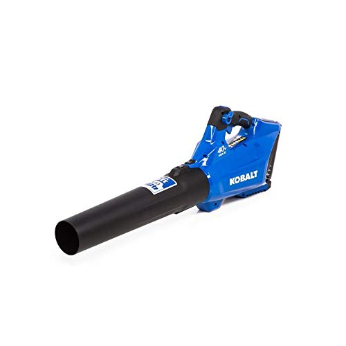 Kobalt 40-Volt Lithium Ion (Li-ion) 480-CFM 110-MPH Medium-Duty Baretool Cordless Electric Leaf Blower (Tool Only - Battery/Charger Not Included) -  KHB 350