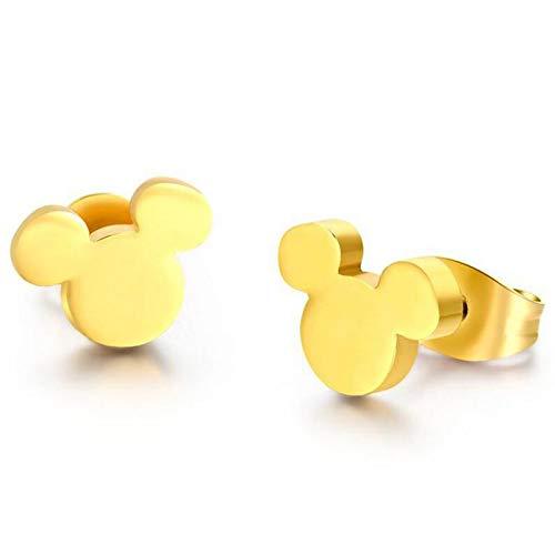 Pendientes de Diseño Mickey Mouse para niñas, chicas y mujeres alegres para regalos divertidos y originales