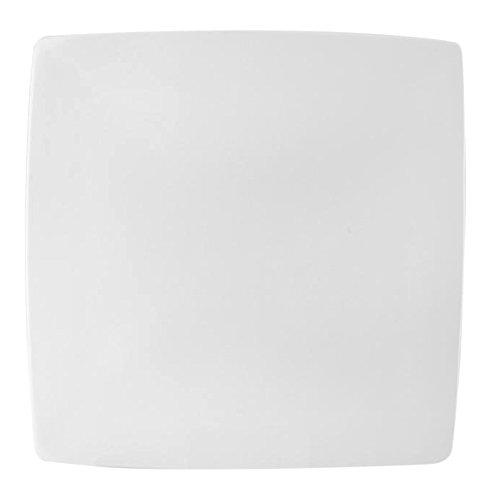 HOTELWARE Plaque Assiette Cadre, 32 cm, Porcelaine, Blanc
